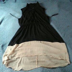 Dress sheer material